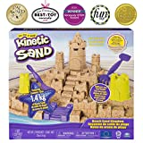 Kinetic Sand 6044143 Mega Set Beach Castle