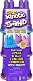Kinetic Sand 6053520 - Schimmer Sand 3er Pack 340 g