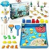theefun Magic Sand Set, 1360g 3 Farben Space Sand kit, magischer Sand, ungiftiges kinetischer Sand...