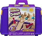 Kinetic Sand Sandspiel Koffer mit 907 g Sand, 5 Förmchen und 2 Werkzeugen