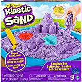 Kinetic Sand Sandbox Set mit 454 g Kinetic Sand, 3 Förmchen und 1 Schaufel, unterschiedliche...